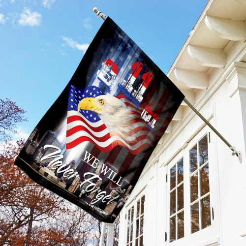 patriot day we will never forget america full printing flag 3