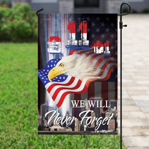 patriot day we will never forget america full printing flag 4