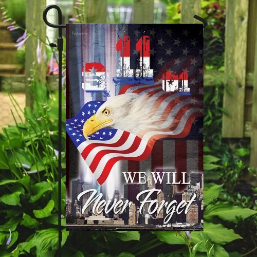 patriot day we will never forget america full printing flag 5