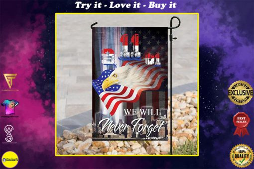 patriot day we will never forget america full printing flag