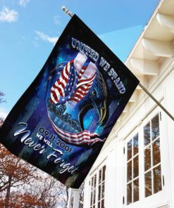 united we stand september 11th never forget all over print flag 3