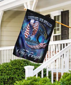 united we stand september 11th never forget all over print flag 4
