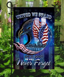 united we stand september 11th never forget all over print flag 5