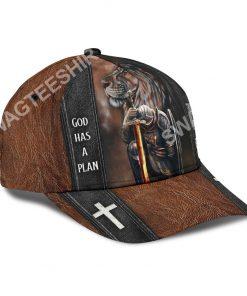 God has a plan trust it live it enjoy it all over printed cap 3(1)