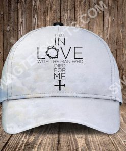 God i fell in love with the man who died for me all over printed classic cap 2(2) - Copy