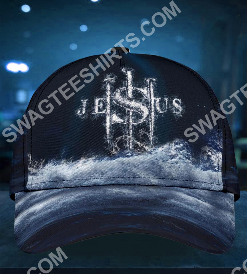 Jesus changed my life all over printed classic cap 2(1)