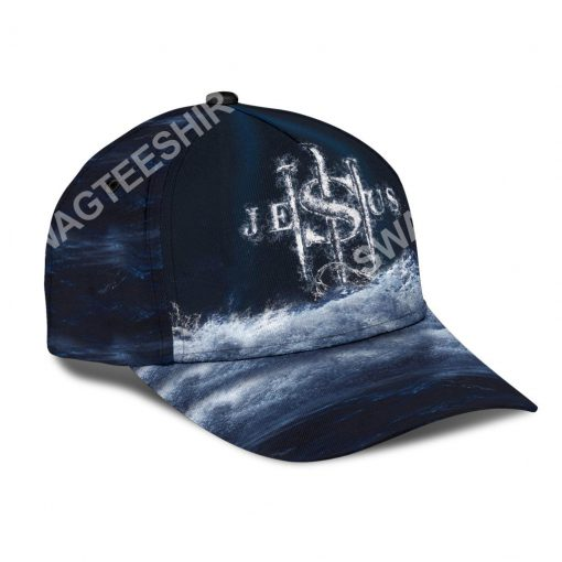 Jesus changed my life all over printed classic cap 3(1)