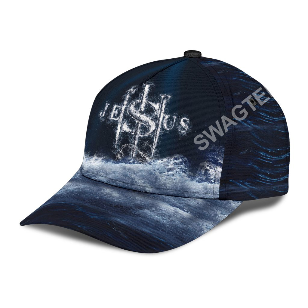 Jesus changed my life all over printed classic cap 4(1)