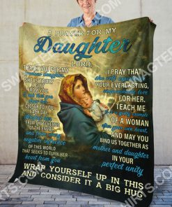 Maria a prayer for my daughter Lord full printing blanket 5(1)