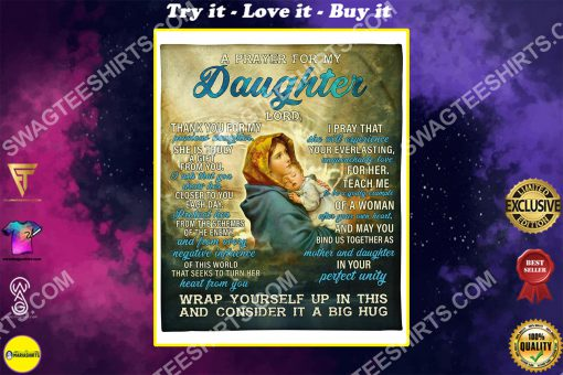 Maria a prayer for my daughter Lord full printing blanket