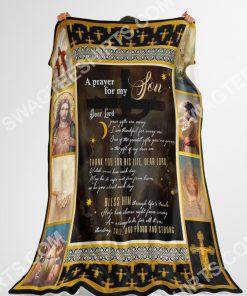 a prayer for my son dear Lord full printing blanket 4(1)