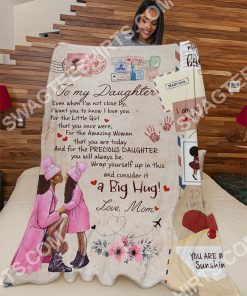 air mail to my daughter i am so proud of you full printing blanket 3(1)