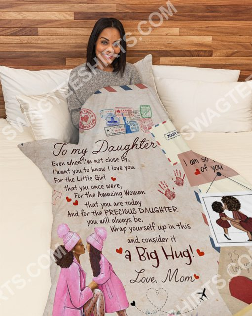 air mail to my daughter i am so proud of you full printing blanket 4(1)