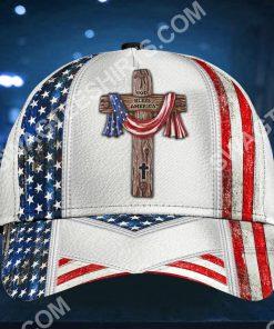 cross God bless america all over printed cap 2(1) - Copy