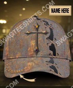 custom name Jesus cross all over printed classic cap 2(1)