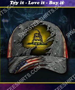 don't tread on me all over printed classic cap