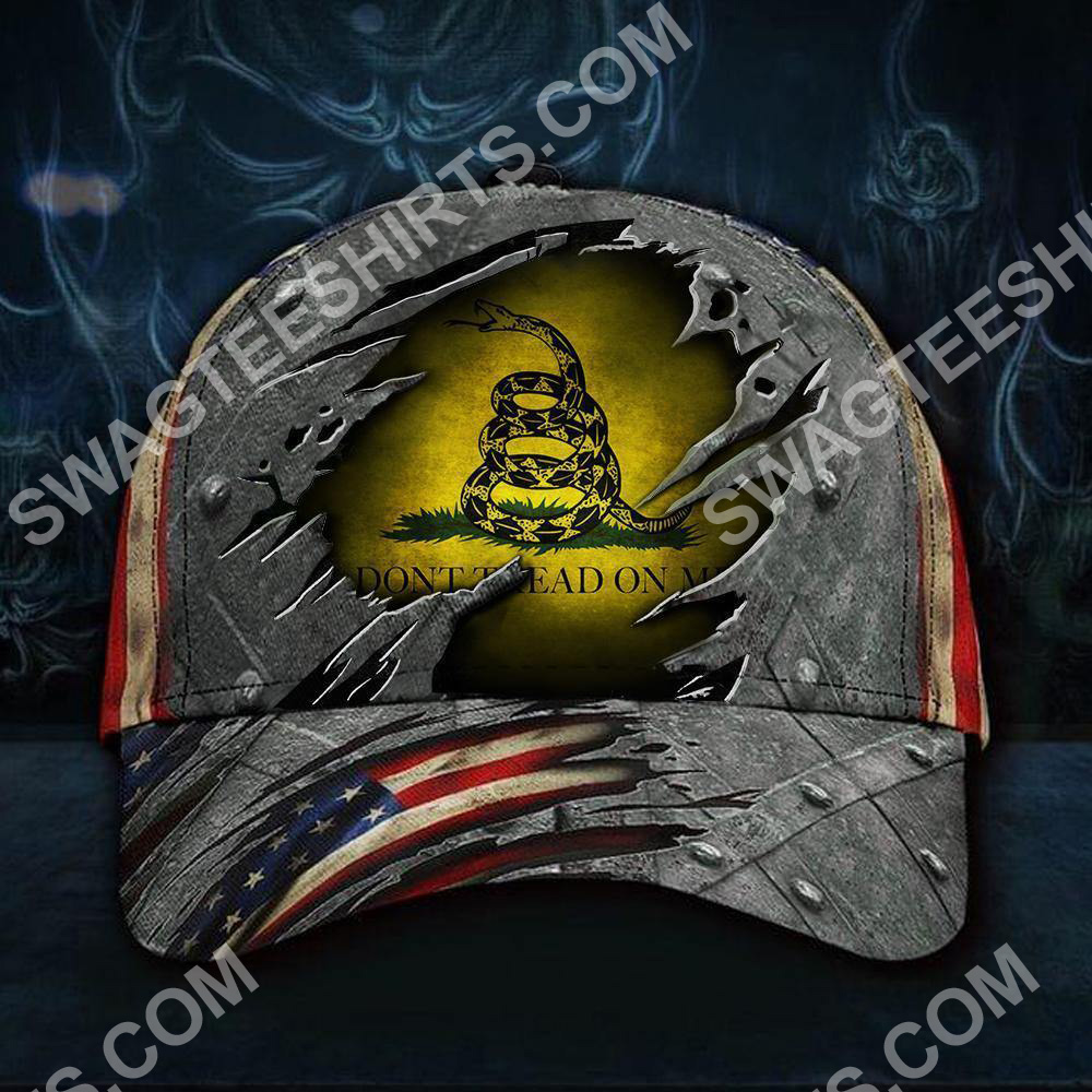 don't tread on me all over printed classic cap 5