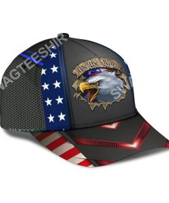 eagle we the people america flag all over printed classic cap 3(1)