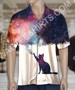 galaxy cat lover all over printed hawaiian shirt 3(1)