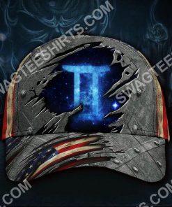gemini zodiac america flag all over printed classic cap 2(2) - Copy