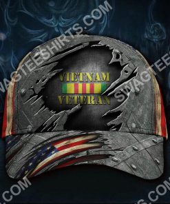 honoring military vietnam veteran all over printed classic cap 2(1) - Copy