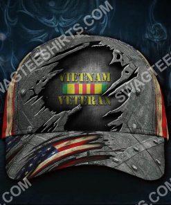 honoring military vietnam veteran all over printed classic cap 2(2) - Copy
