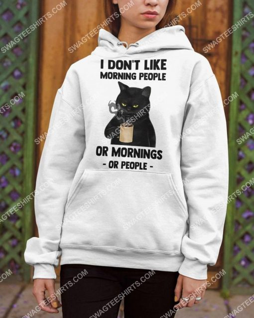 i don't like morning people black cat coffee shirt 3(1) - Copy