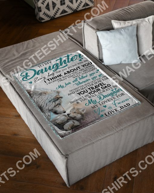 lion to my daughter my love for you is forever full printing blanket 2(1)