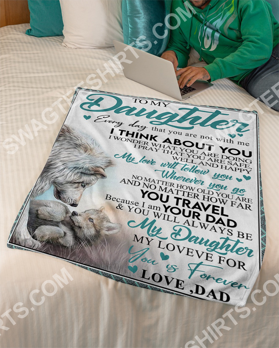 lion to my daughter my love for you is forever full printing blanket 3(1)