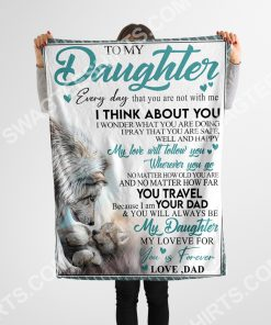 lion to my daughter my love for you is forever full printing blanket 5(1)