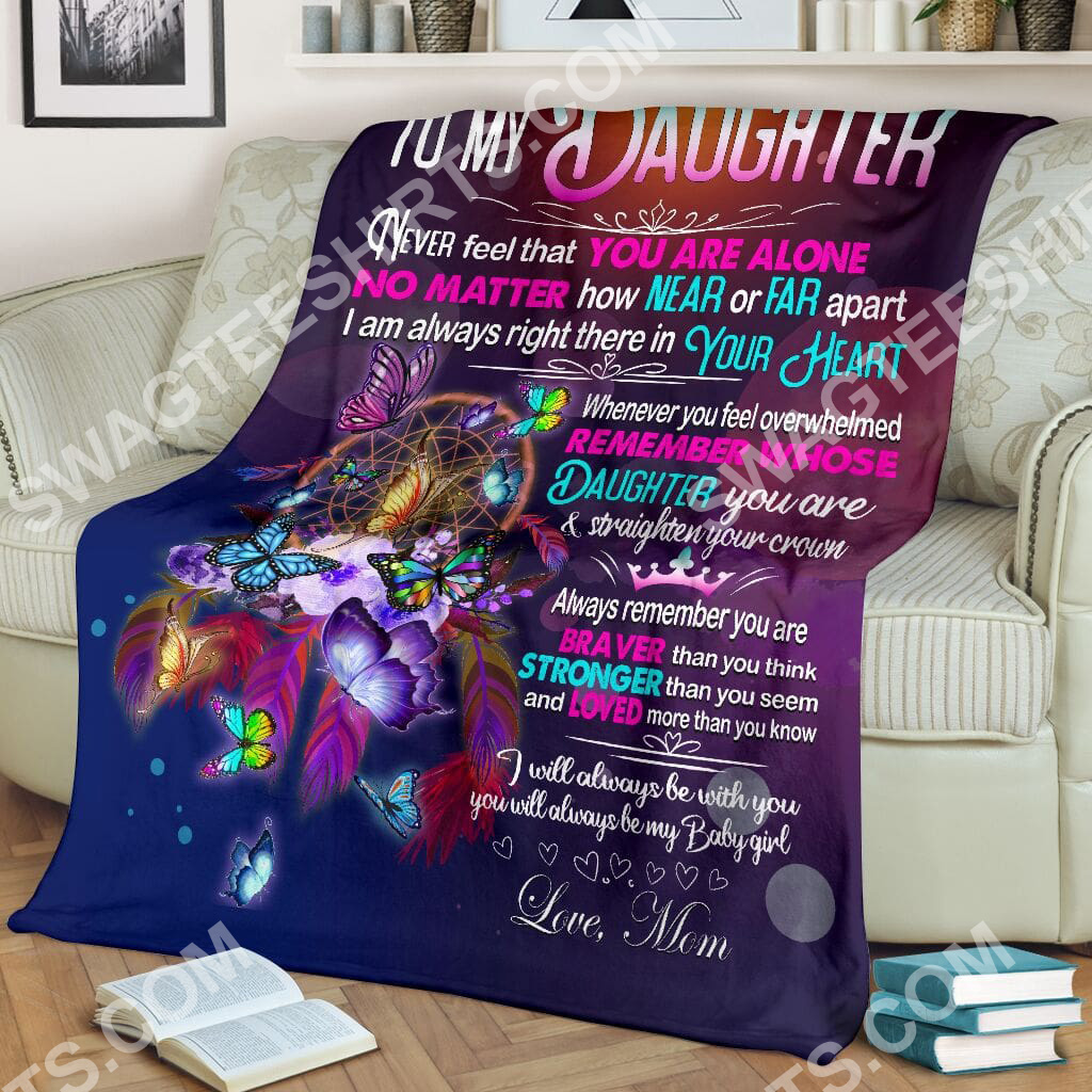 night butterfly to my daughter i love you your mom full printing blanket 2(1)