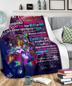 night butterfly to my daughter i love you your mom full printing blanket 3(1)
