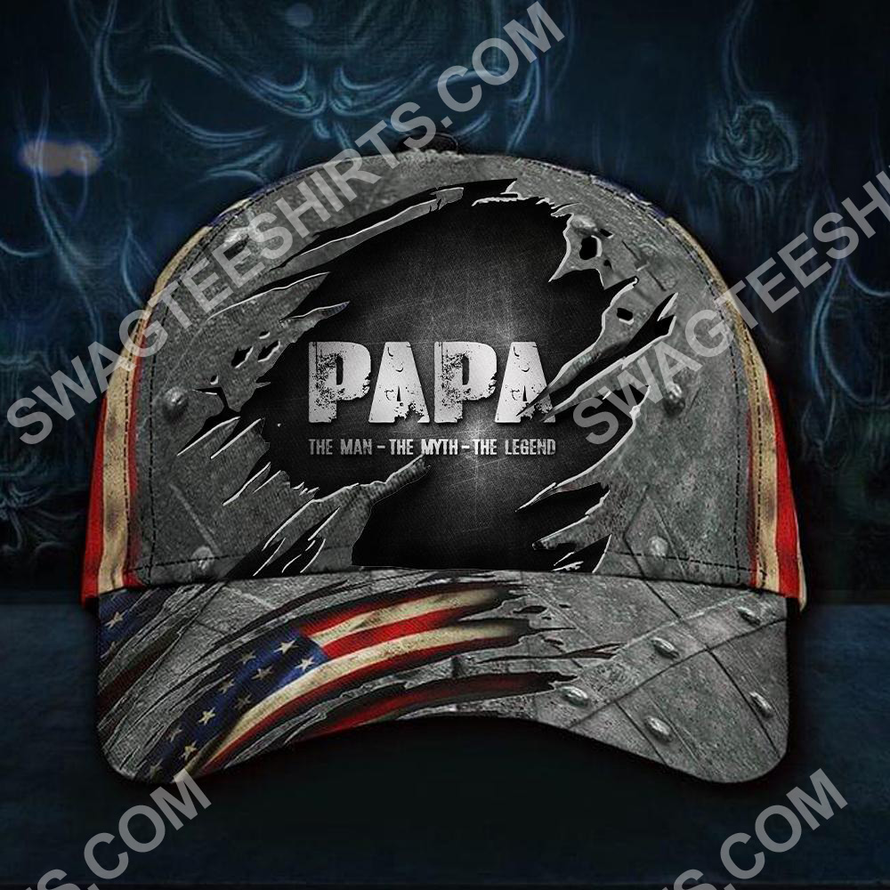 papa the man the myth the legend classic cap 2(1) - Copy