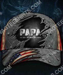 papa the man the myth the legend classic cap 2(3) - Copy