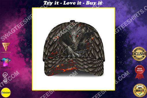 the dragon lava all over printed classic cap