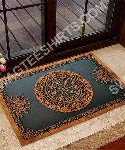 viking norse mythology all over printed doormat 2(1)
