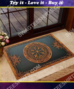 viking norse mythology all over printed doormat