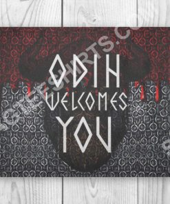 viking odin welcomes you all over printed doormat 2(1) - Copy