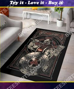 viking rectangle all over printed rug