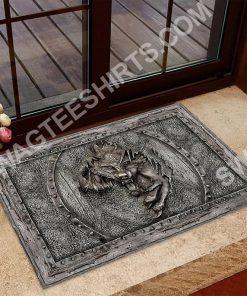 wolf viking metal all over printed doormat 2(3) - Copy
