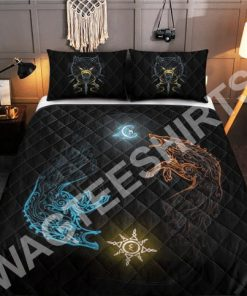 wolves viking all over printed bedding set 2(1) - Copy