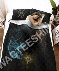 wolves viking all over printed bedding set 3(1) - Copy