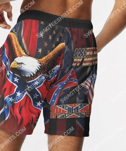 american by birth southern by the grace of God beach shorts 5(1)
