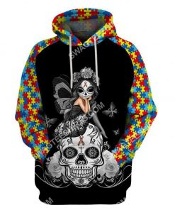 autism awareness cup girl sugar skull all over printed hoodie 1 - Copy (3)