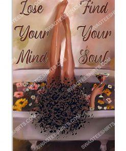 black girl lose your mind find your soul poster 1(1)