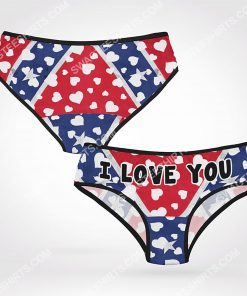 confederate state flag i love you women brief 2(1) - Copy