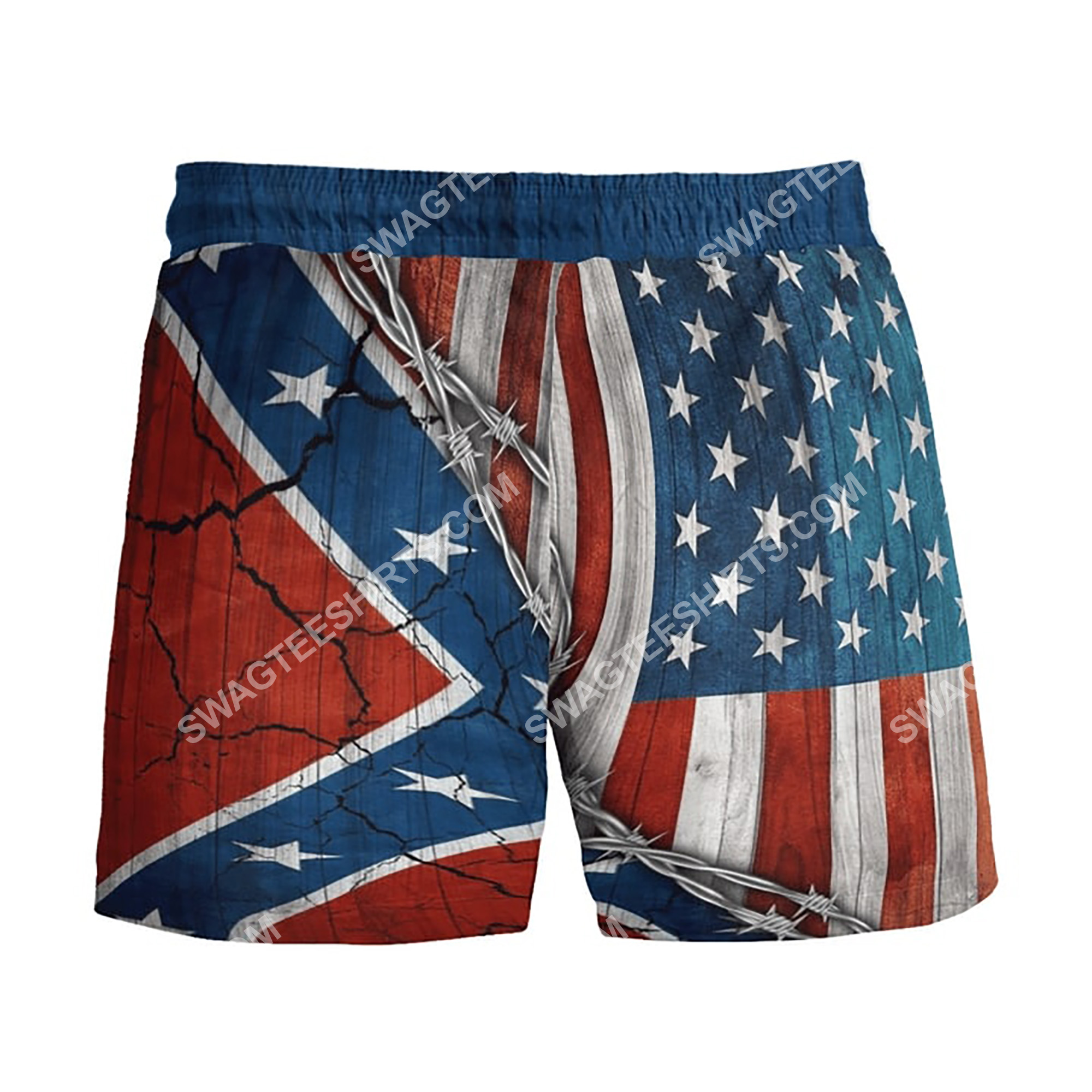 confederate states of america eagle beach shorts 3(1)