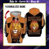custom name lion i am an august guy never mistake my kindness for weakness all over printed shirt