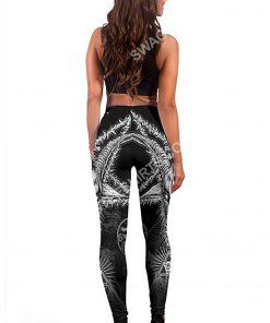 demon satanic skull all over printed legging 5(1)