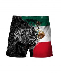 flag of mexico all over printed hawaiian shorts 2(1) - Copy